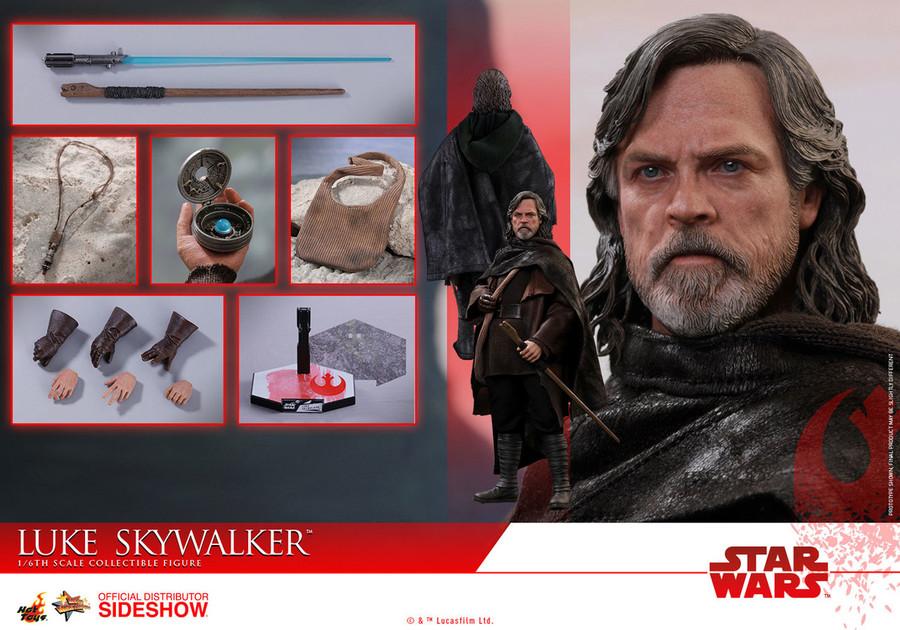 Hot Toys - Star Wars: The Last Jedi - Luke Skywalker