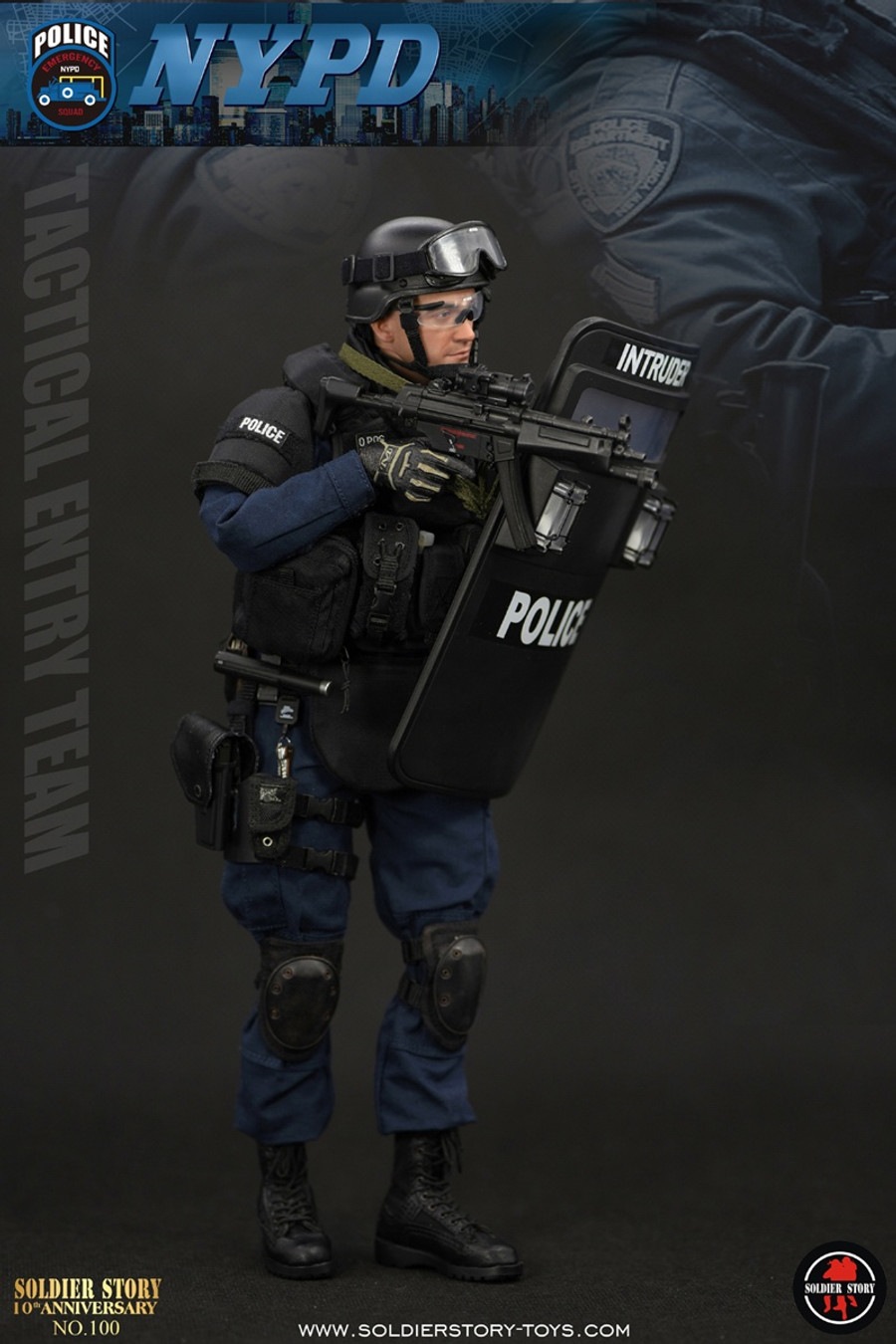 """Soldier Story - NYPD ESU """"Tactical Entry Team"""""""