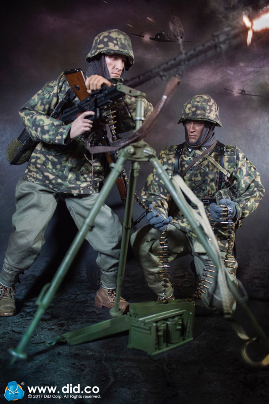 DID - 3rd SS-Panzer-Division MG34 Gunner Version C - Curtis
