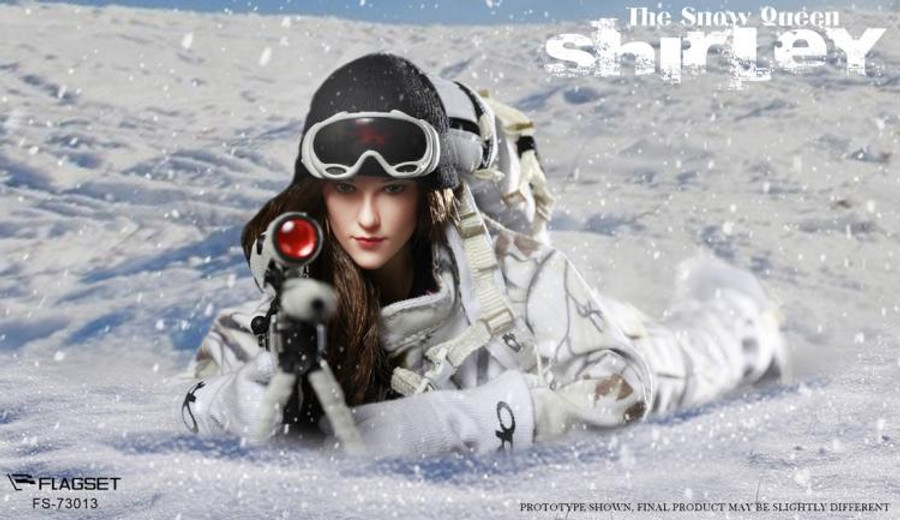 Flagset - The Snow Queen Shirley
