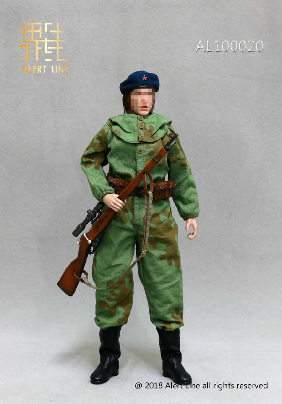 Alert Line - WWII Soviet Female Soldier Sniper Set