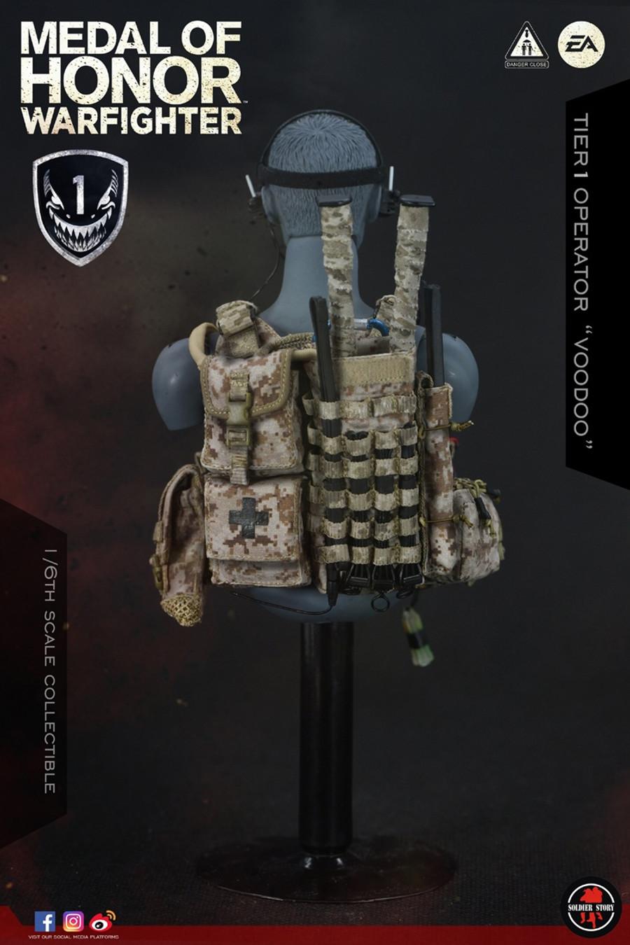 "Soldier Story - Medal of Honor: Navy Seal Tier One Operator ""Voodoo"""