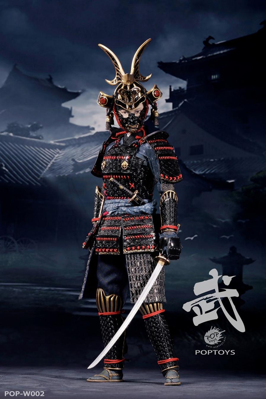 POP Toys - Warrior Women Series: The Butterfly Helmets Female Warriors (Black Armor Luxury Version)