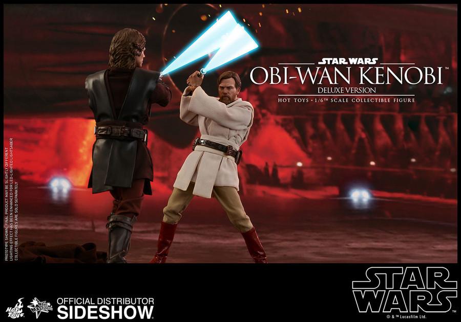 Hot Toys - Episode III: Revenge of the Sith - Obi-Wan Kenobi Deluxe Version