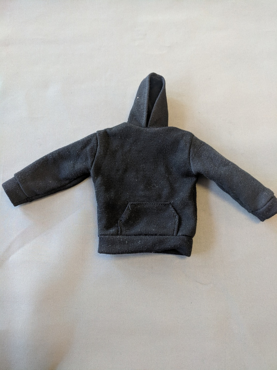 Other - Modern Civilian - Outerwear: Male Black Pullover Hoodie