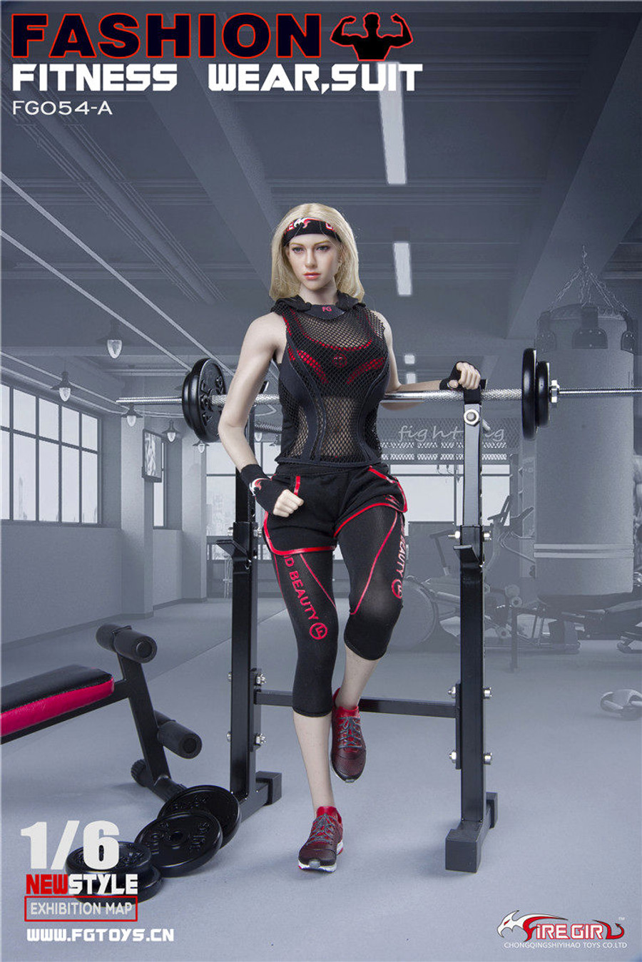 Fire Girl Toys - Fashion Women Fitness Wear