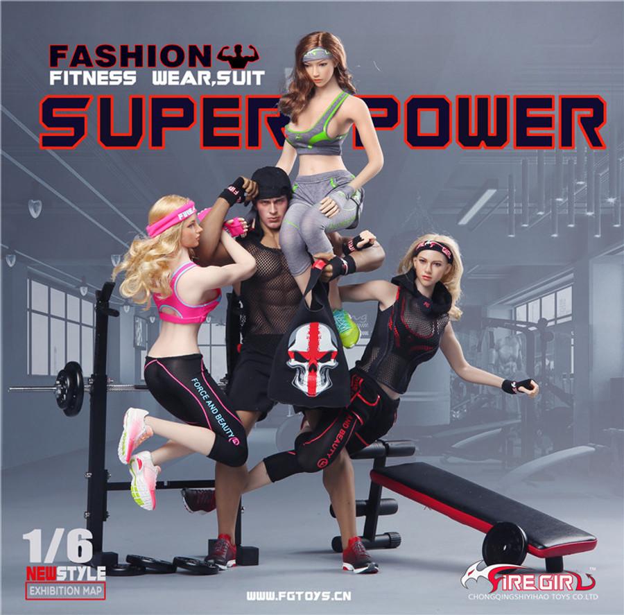 Fire Girl Toys - Fashion Fitness Wear