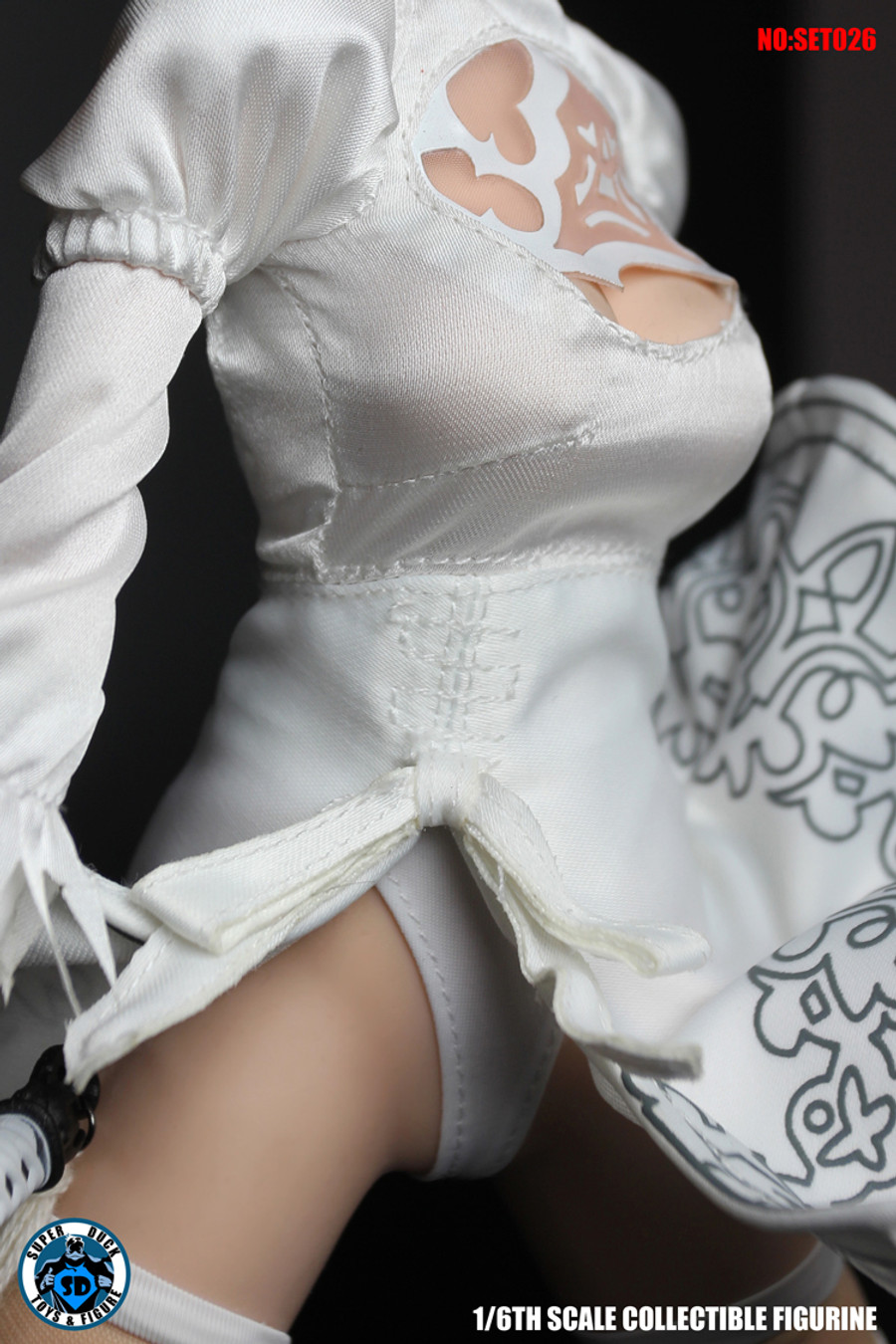 Super Duck - Cosplay Girl in White