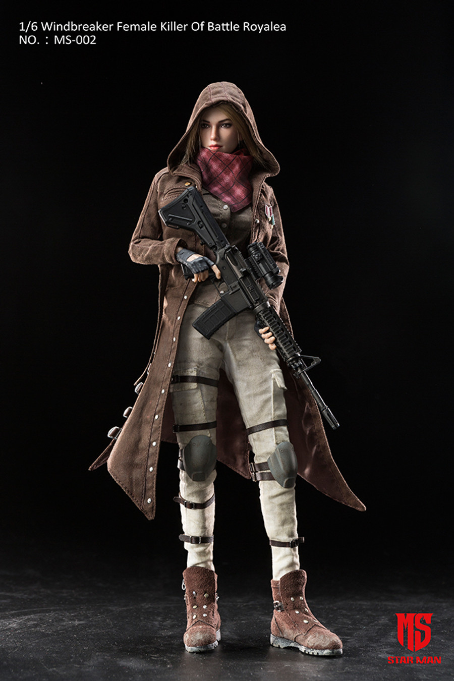 Star Man - Windbreaker Female Killer of Battle Royale