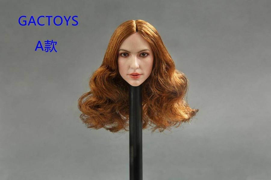 GAC Toys - European and American Women's Head Sculpture