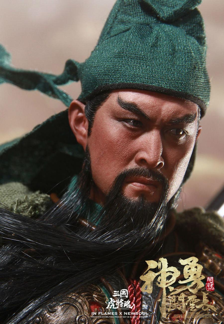 Inflames Toys x Newsoul Toys - Guan Yunchang Standard Version