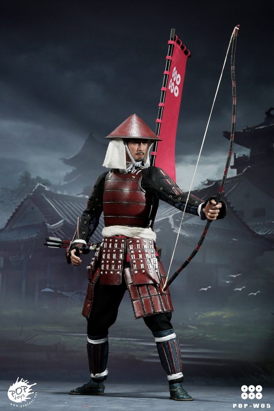Pop Toys - Ashigaru Deluxe Version