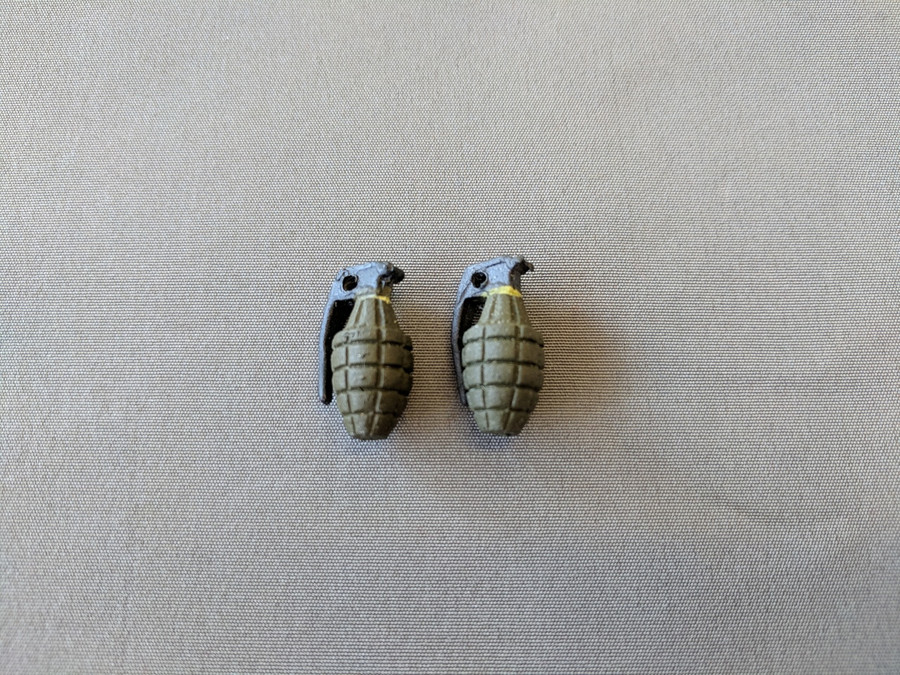 Other - Military Explosives: MK. II Fragmentation Grenade