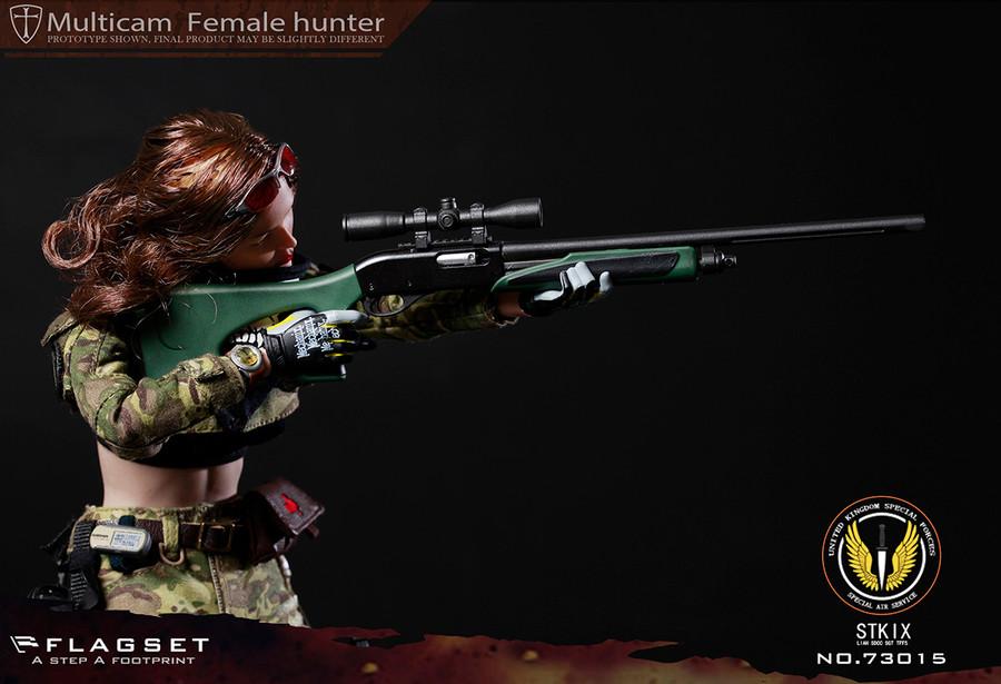 Flagset - UK Special Police MC Female Hunter Angela
