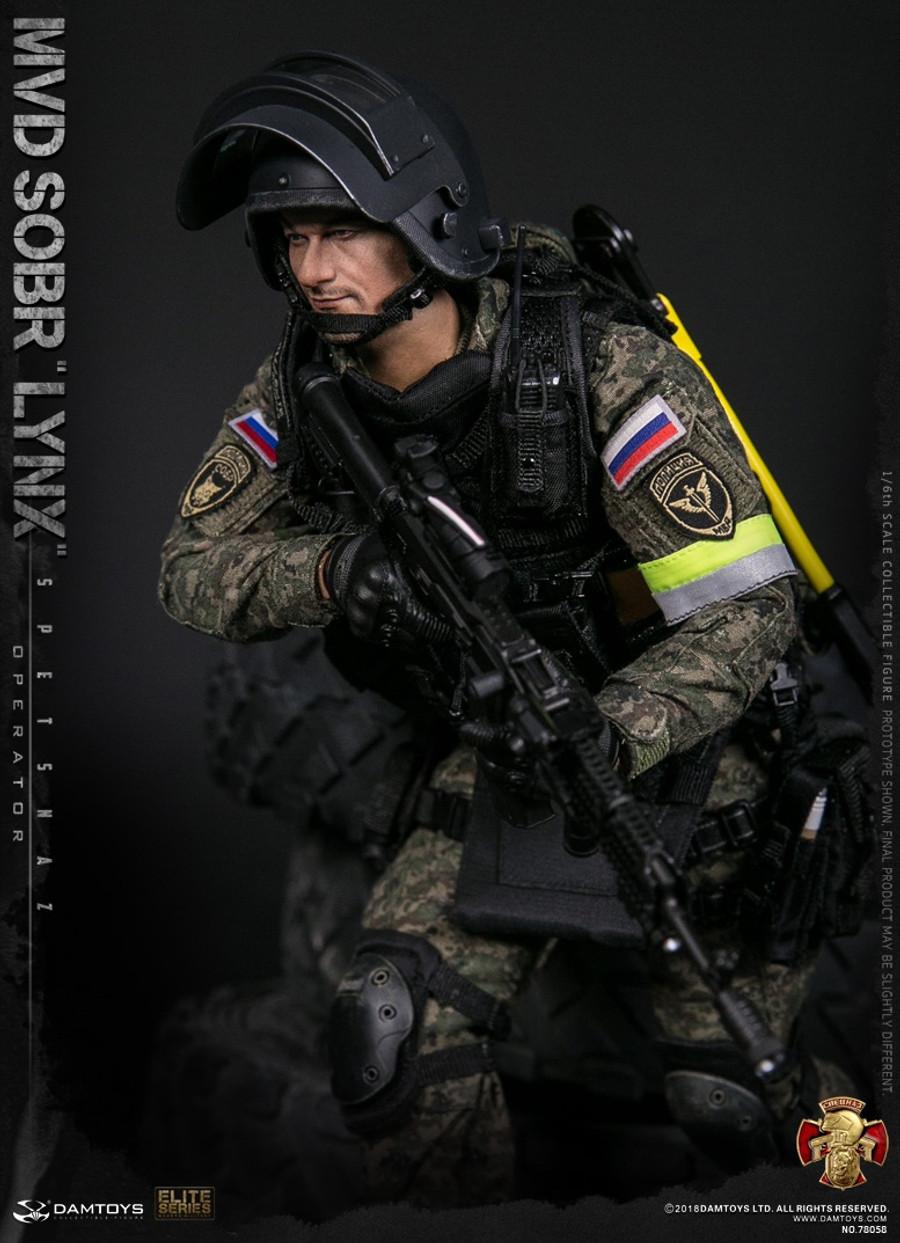 Dam Toys - Russian Spetsnaz MVD - SOBR LYNX