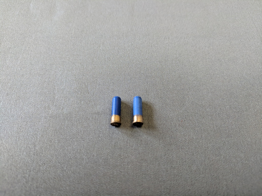 Other - Ammunition - 12 Gauge Shotgun Shells (Blue)