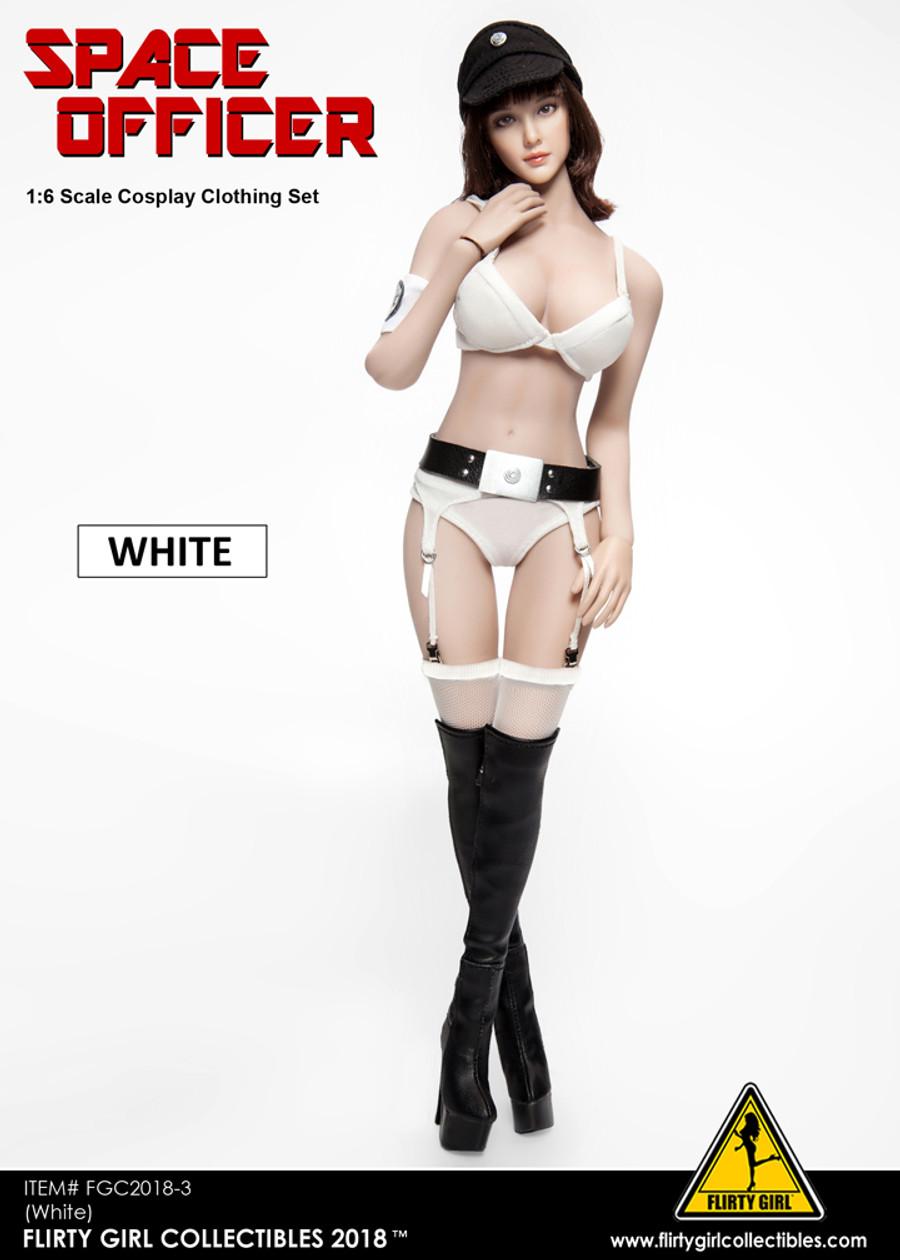 Flirty Girl - Space Officer Clothing Set