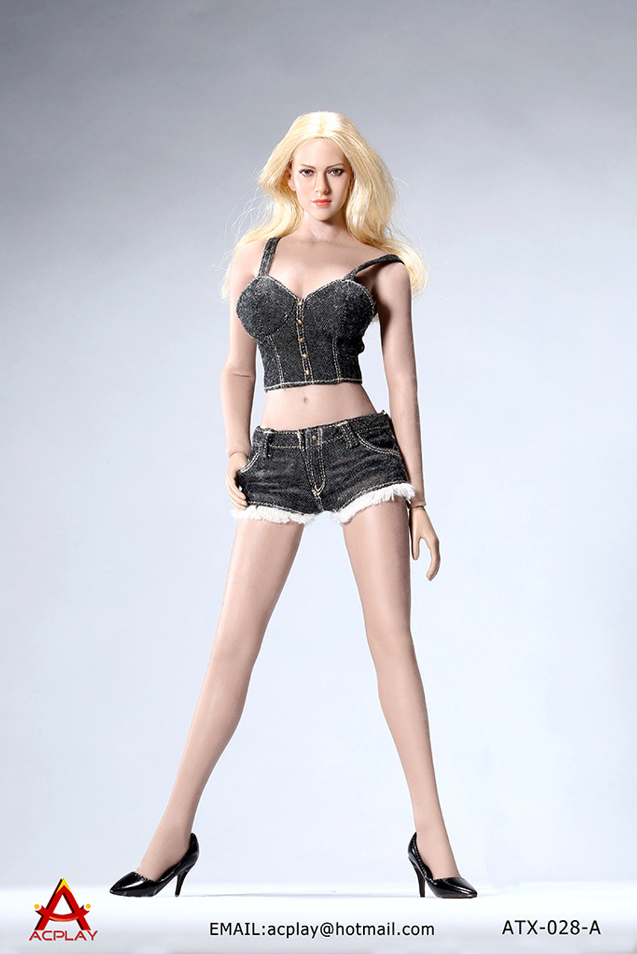 AC Play - Hot Sun-top and Denim Shorts Set
