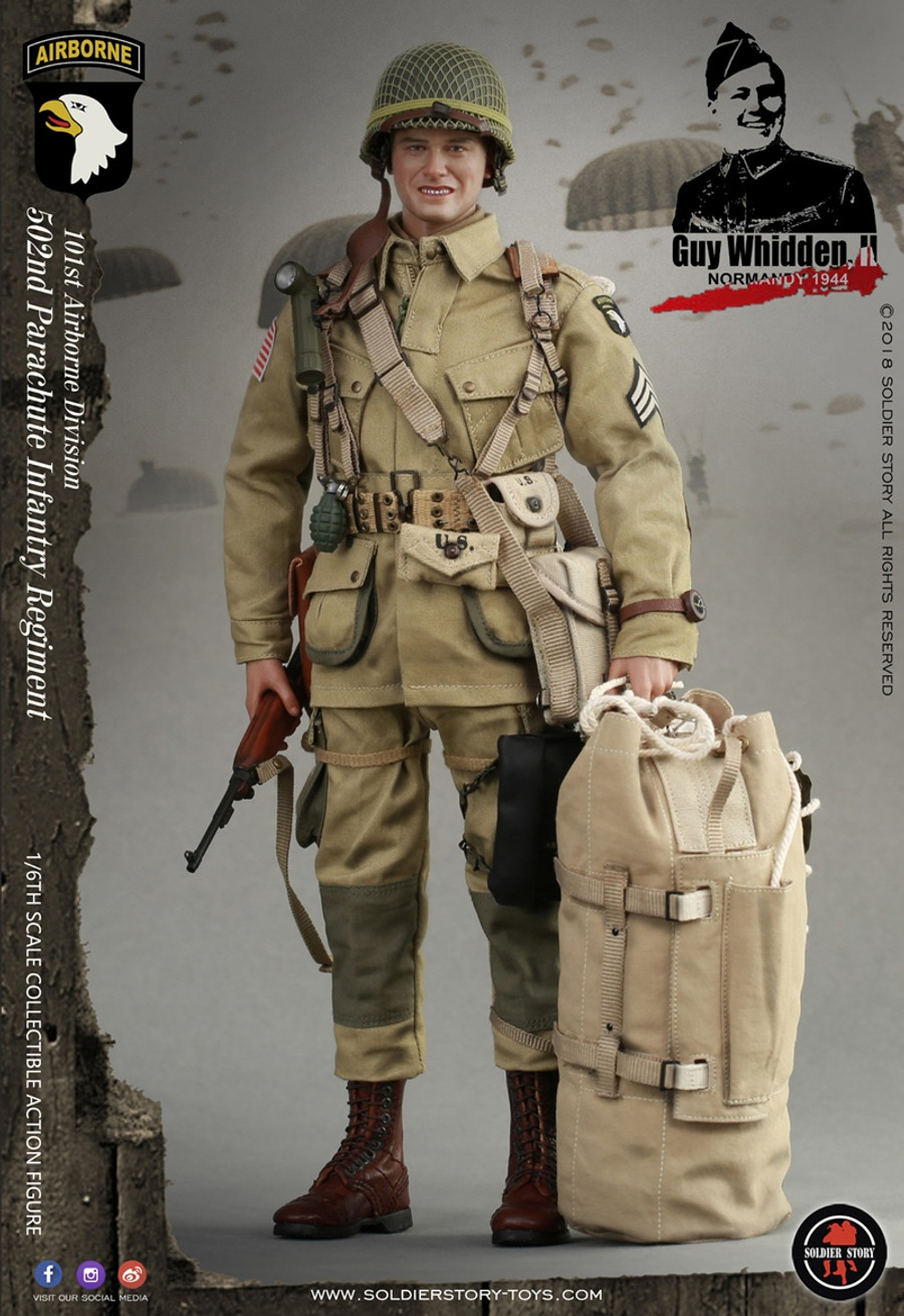 "Soldier Story - WWII 101st Airborne Division ""Guy Whidden, II"""
