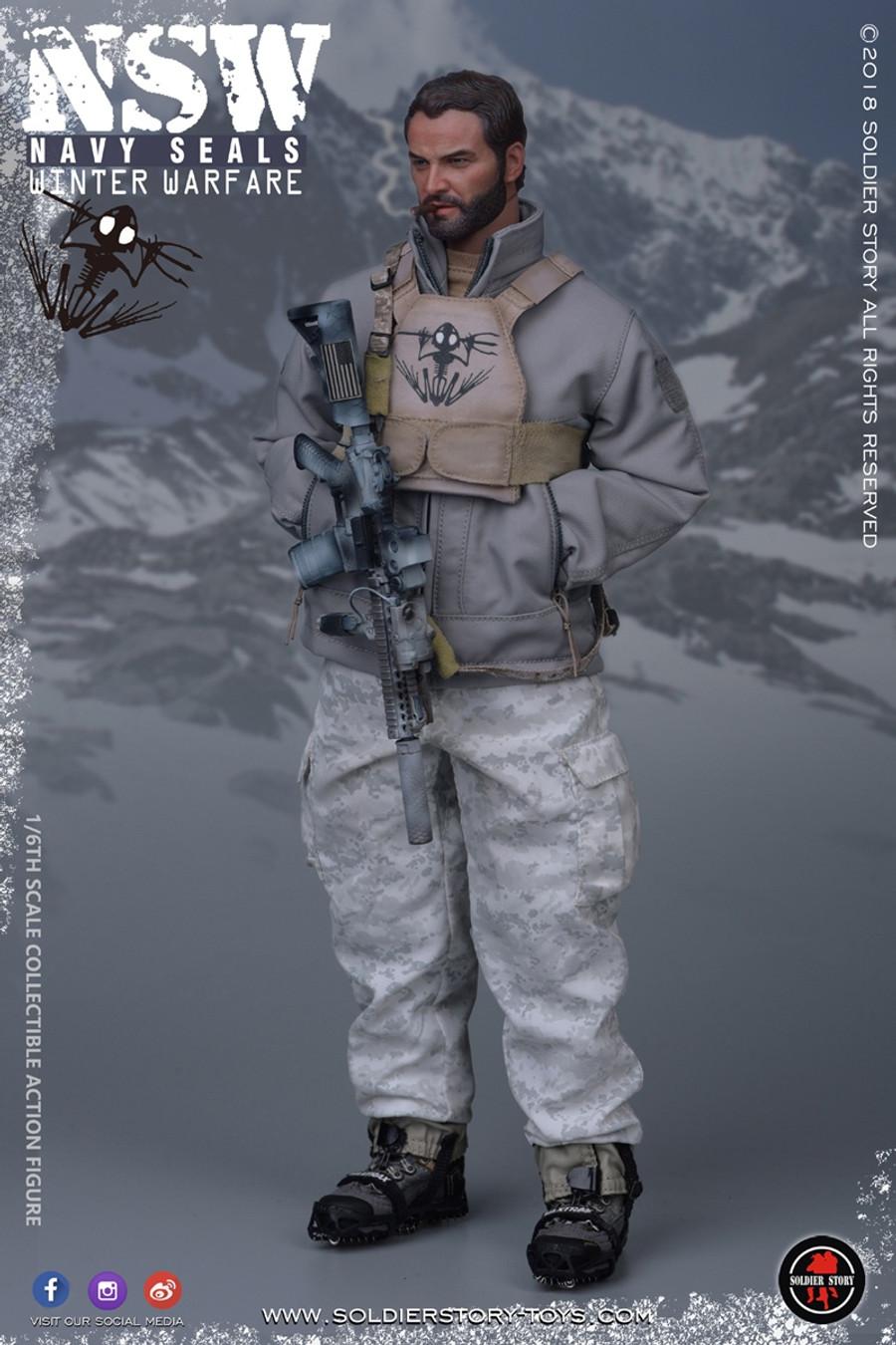 "Soldier Story - NSW Winter Warfare ""Marksman"""