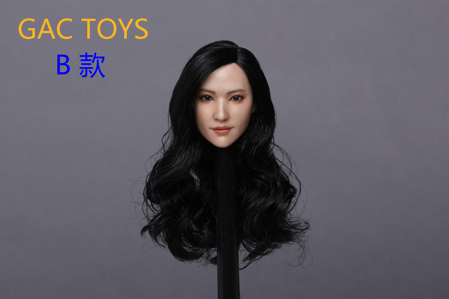 GAC Toys - Asian Women's Head Sculpture GAC015