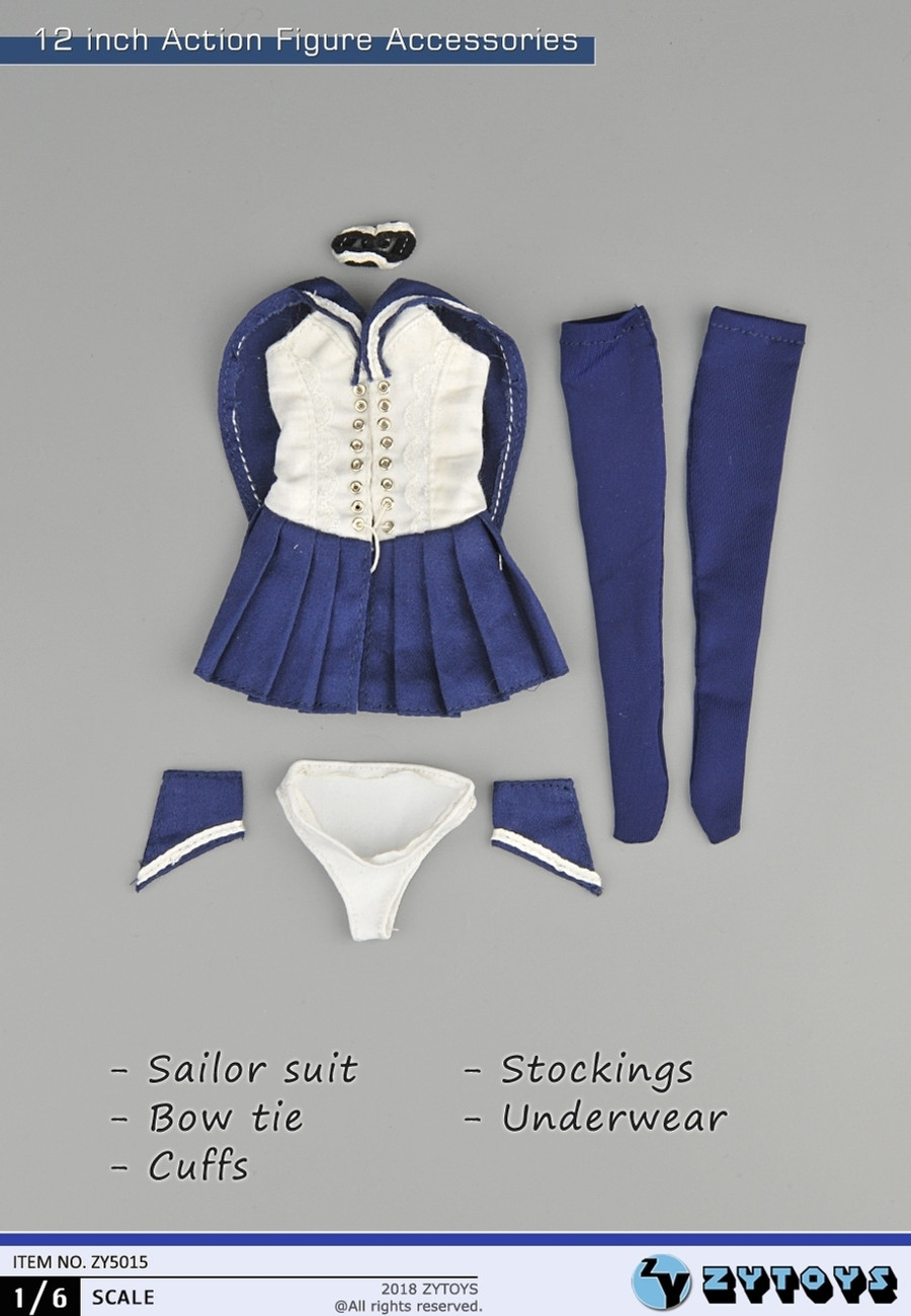 ZY Toys - Sailor Girl Student Uniform B