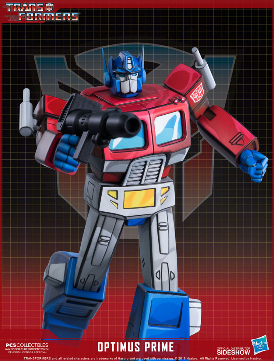 Pop Culture Shock - Optimus Prime Classic Scale Statue