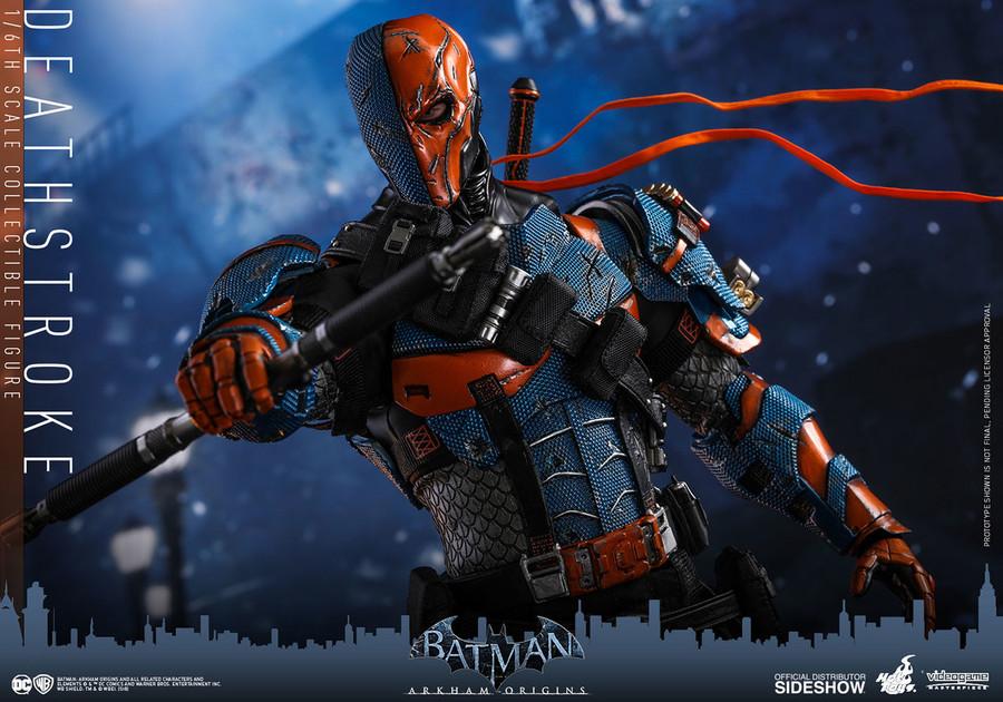 Hot Toys - Batman: Arkham Origins - Deathstroke