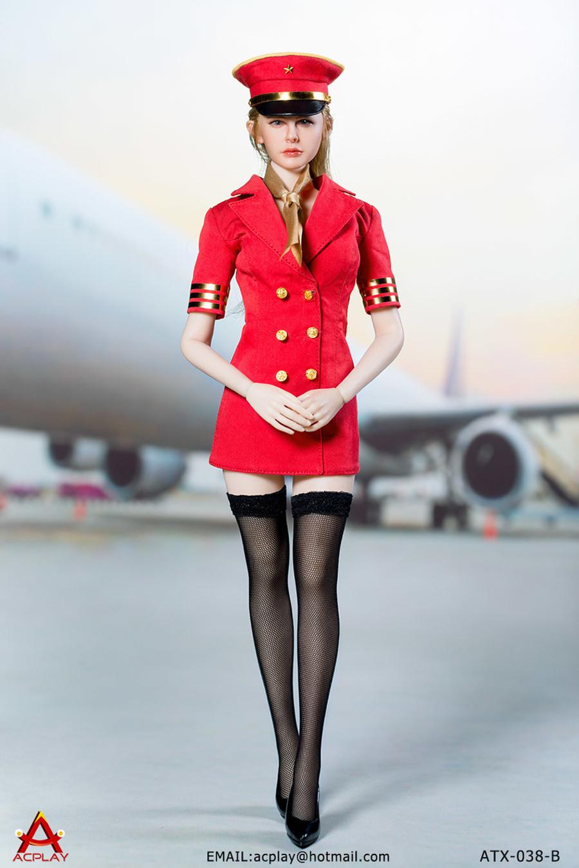 AC Play - Flight Attendant Dress