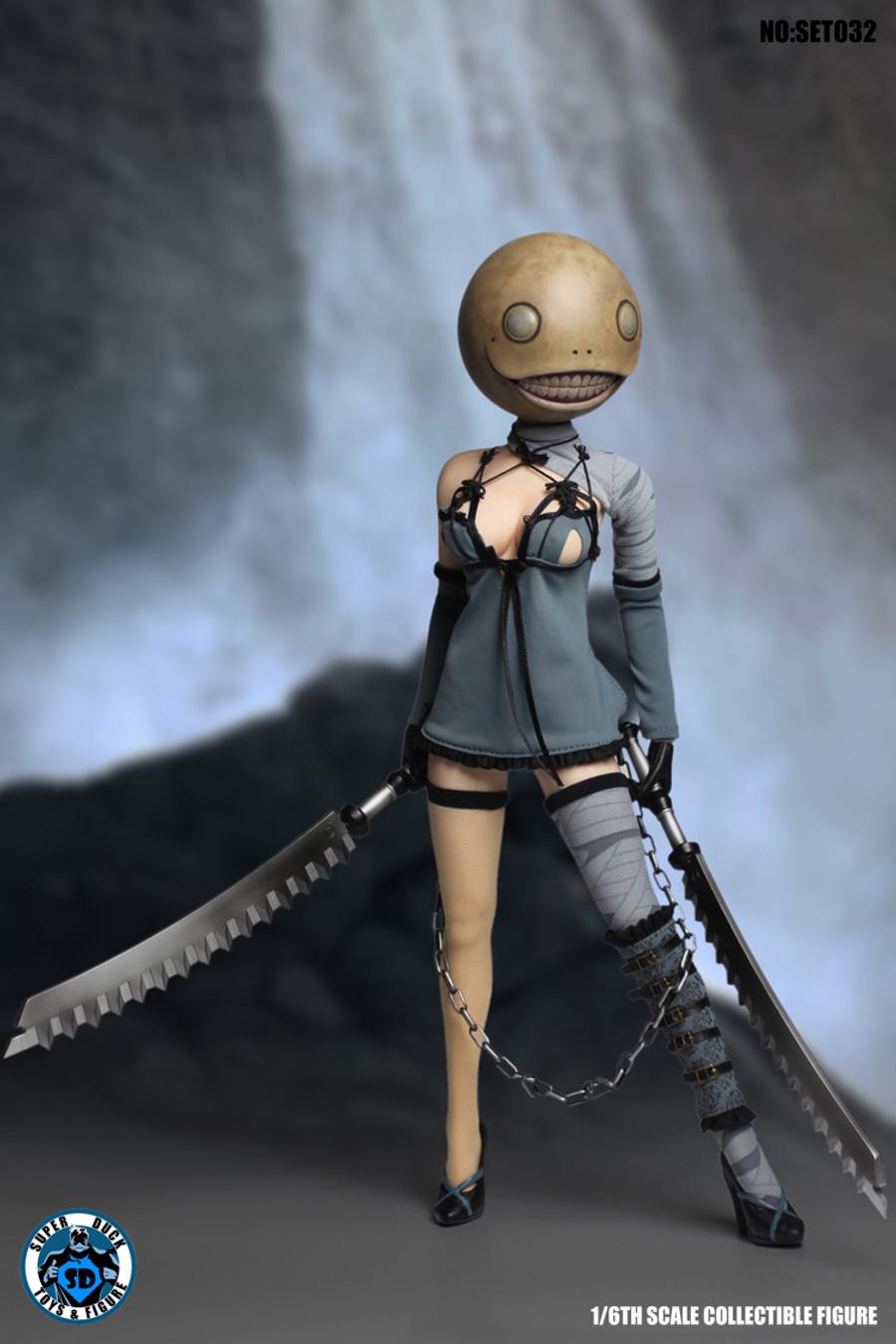 Super Duck - Female Warrior - SET032