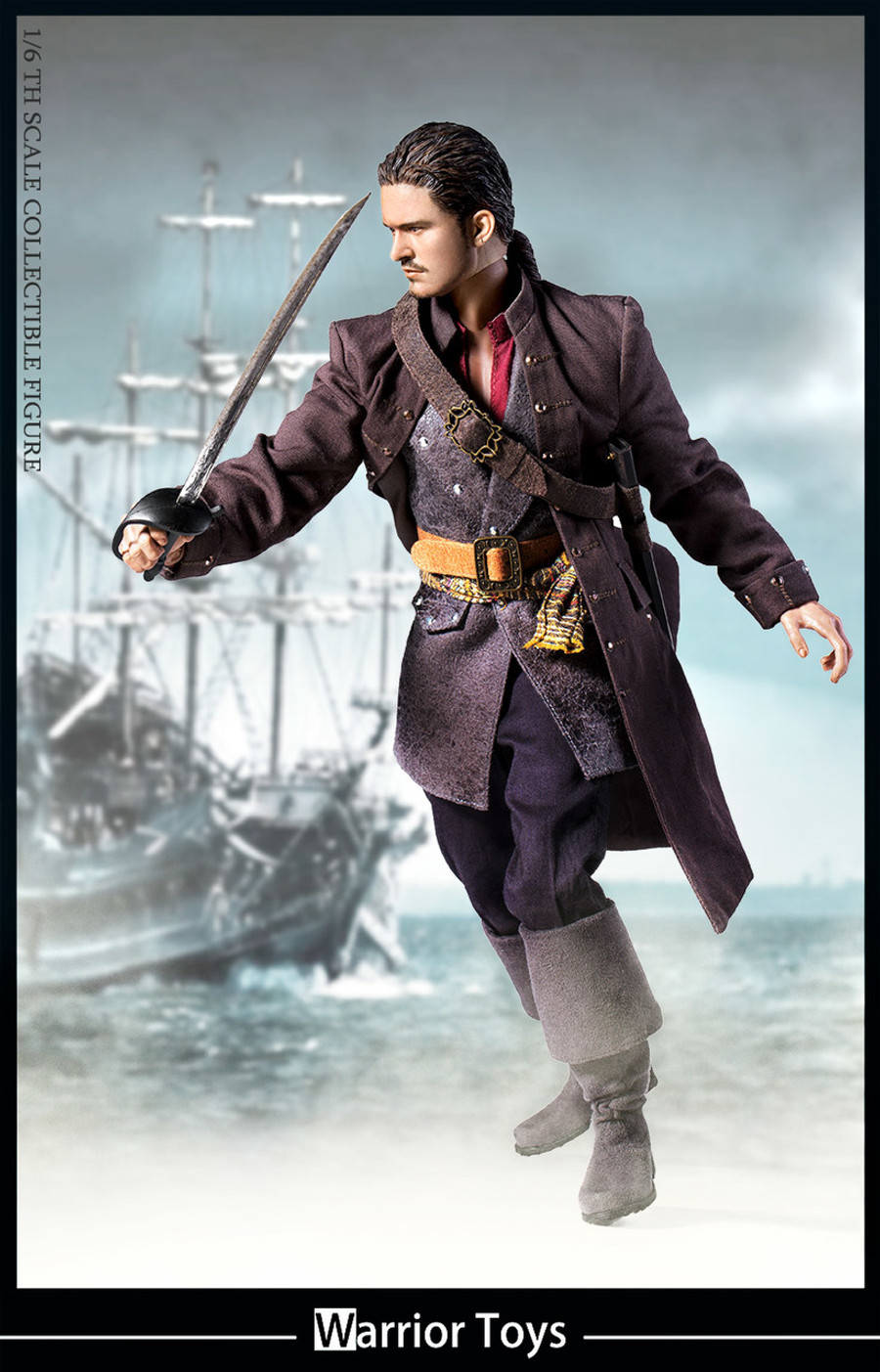 Warrior Toys - Pirate Captain