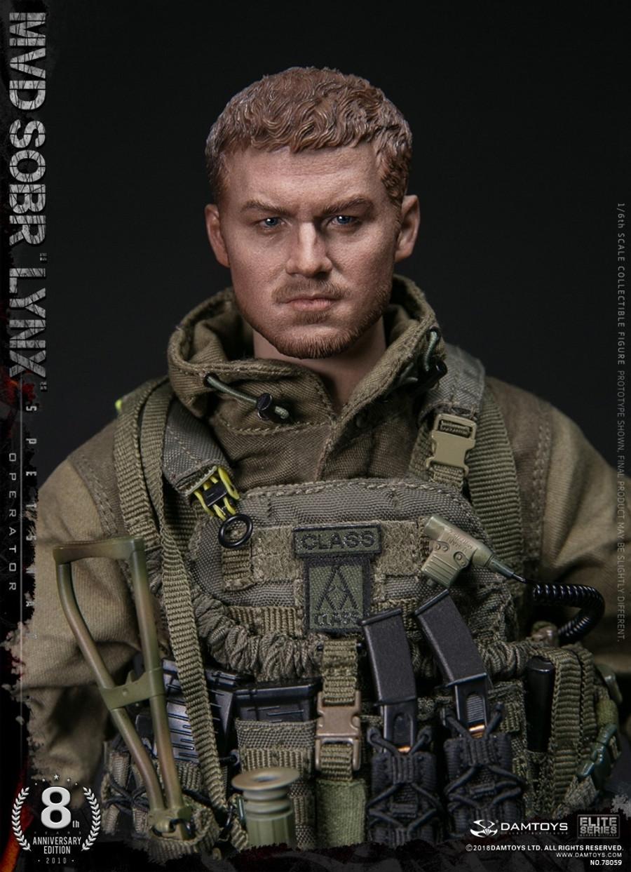 Dam Toys - Russian Spetsnaz MVD SOBR LYNX - 8th Anniversary Edition