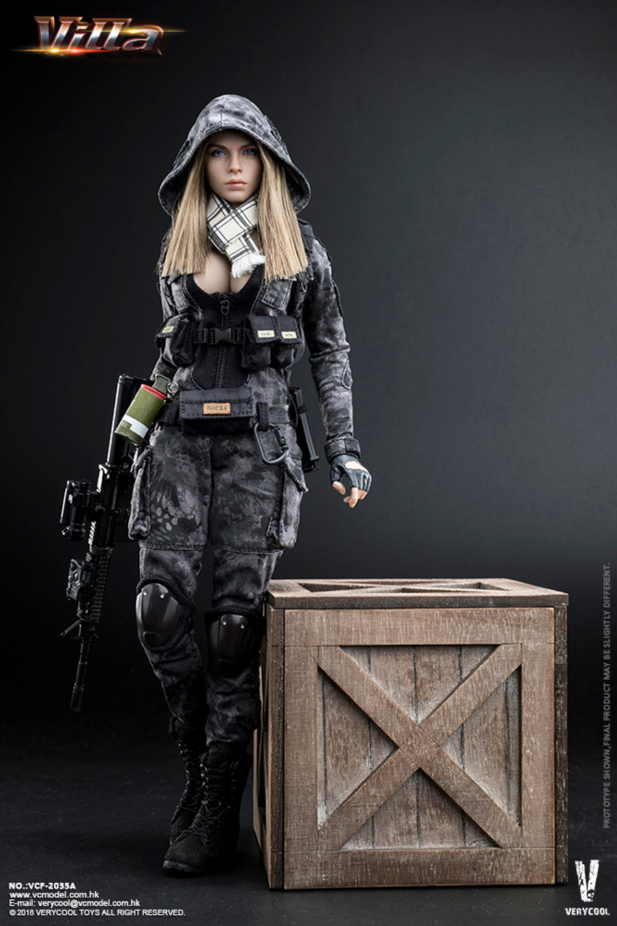 Very Cool - Villa Sister: Police Black Python Stripe