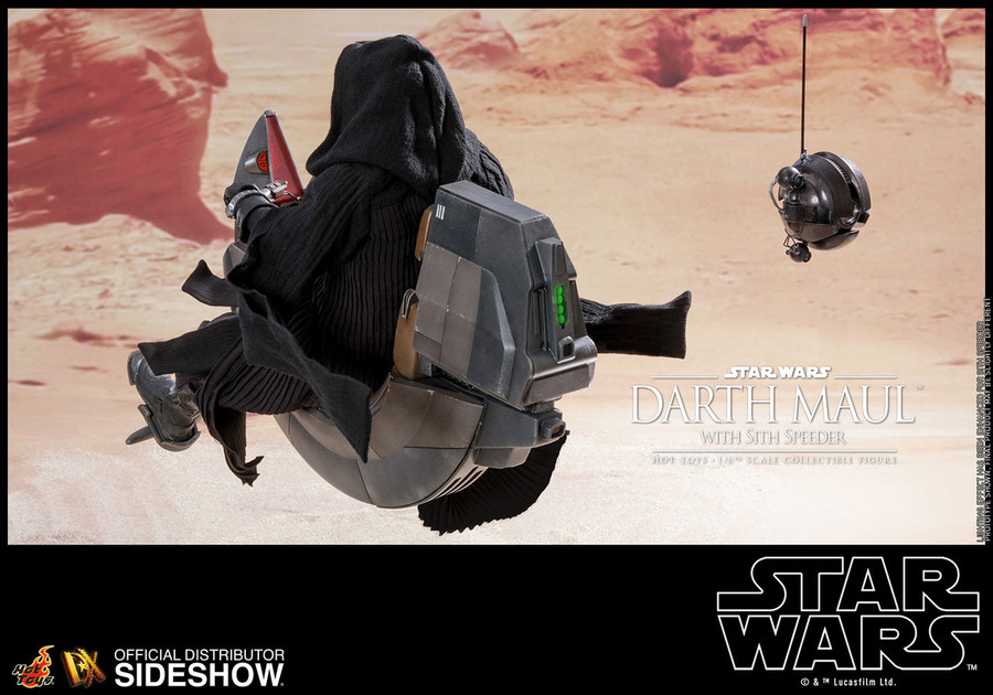 Hot Toys - Star Wars Episode I: The Phantom Menace - Darth Maul with Sith Speeder