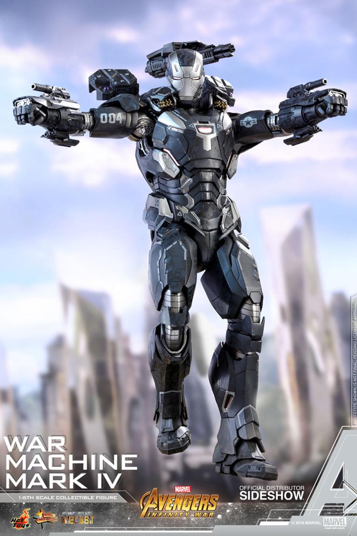 Hot Toys - Avengers: Infinity War - War Machine Mark IV Diecast