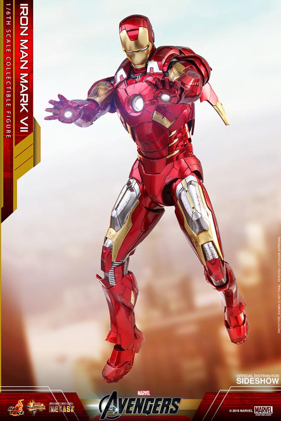 Hot Toys - Avengers: Iron Man Mark VII Diecast