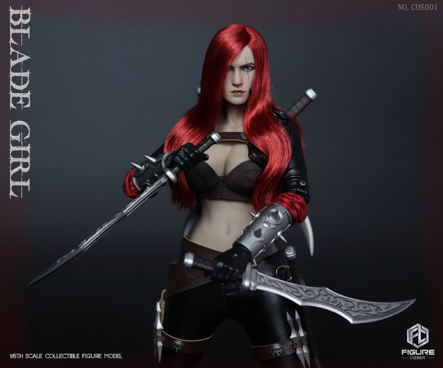 Figure Coser - Blade Girl