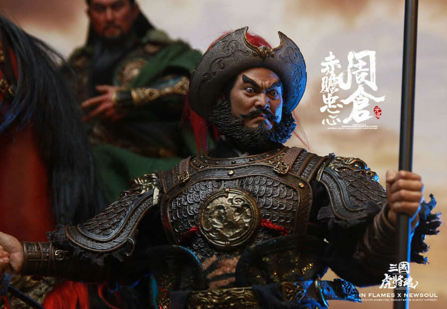 Inflames Toys x Newsoul Toys - Soul of Tiger Generals: Zhou Cang with Night Reading Scene