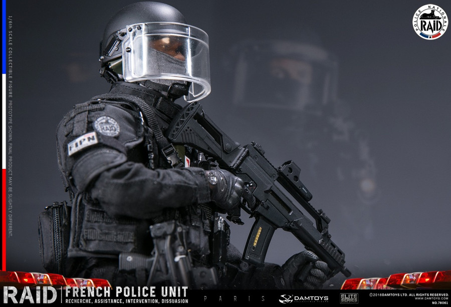 DAM Toys - Elite Series: French Police Unit Raid In Paris