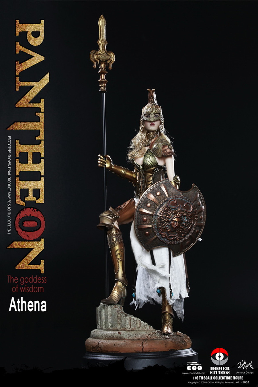 COO Model - Goddess of Wisdom Athena