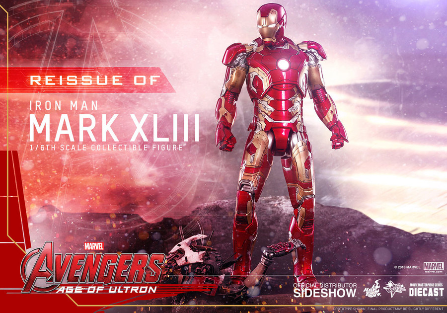 Hot Toys - Avengers: Age of Ultron - Iron Man Mark XLIII