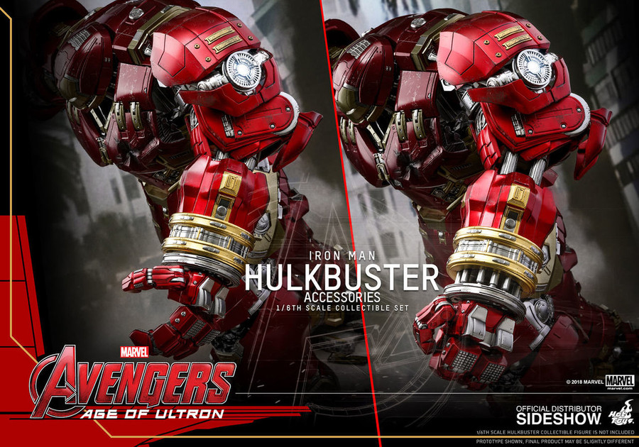 Hot Toys - Avengers: Age of Ultron - Hulkbuster Accessories