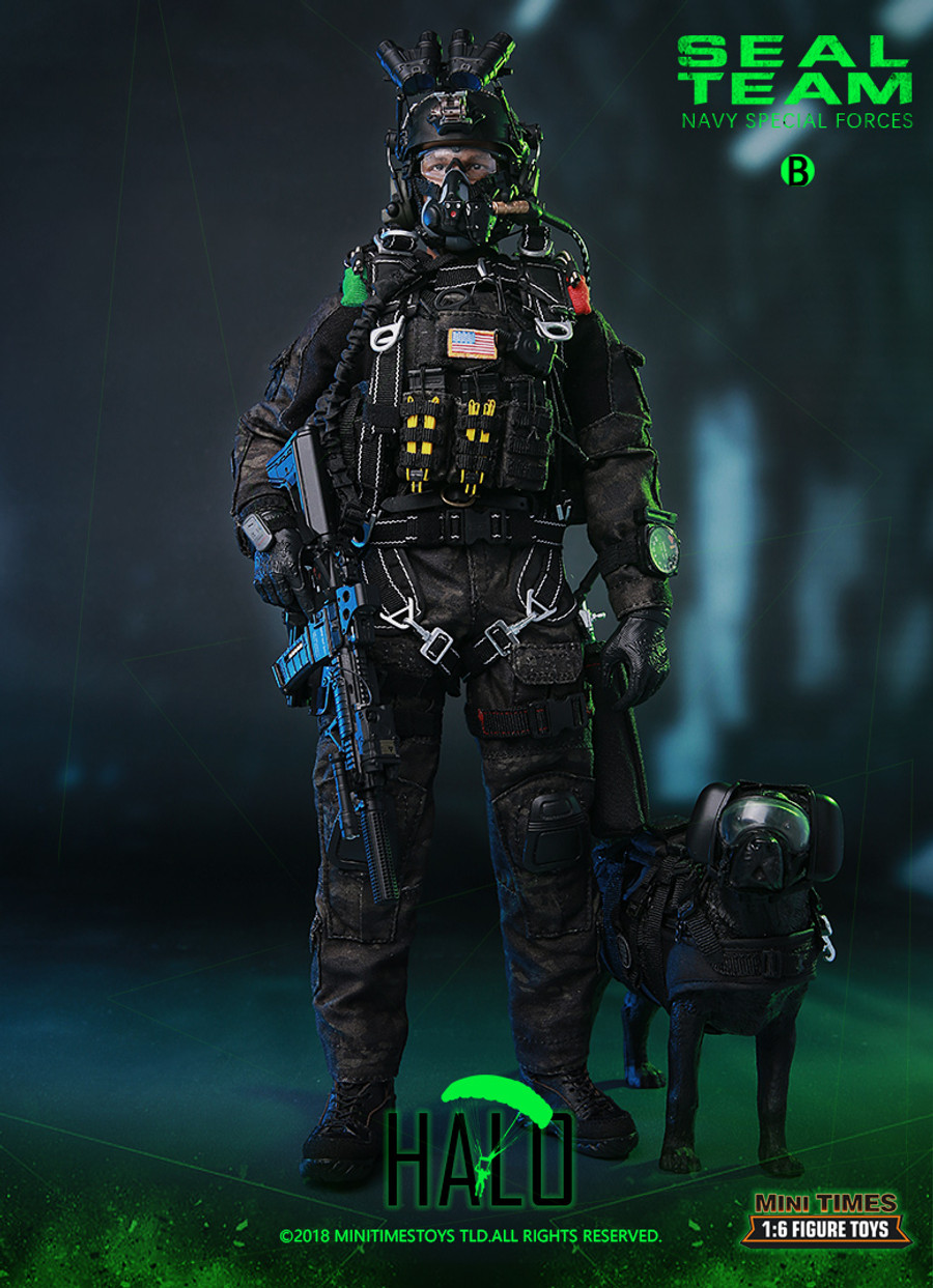 """Mini Times - SEAL Team Navy Special Forces """" HALO """""""