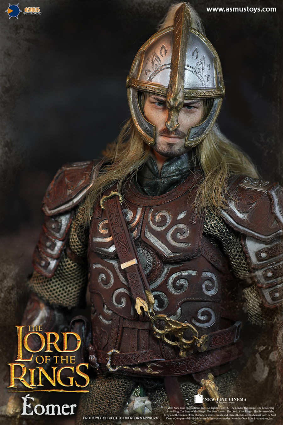 Asmus Toys - The Lord of The Ring Series: Éomer