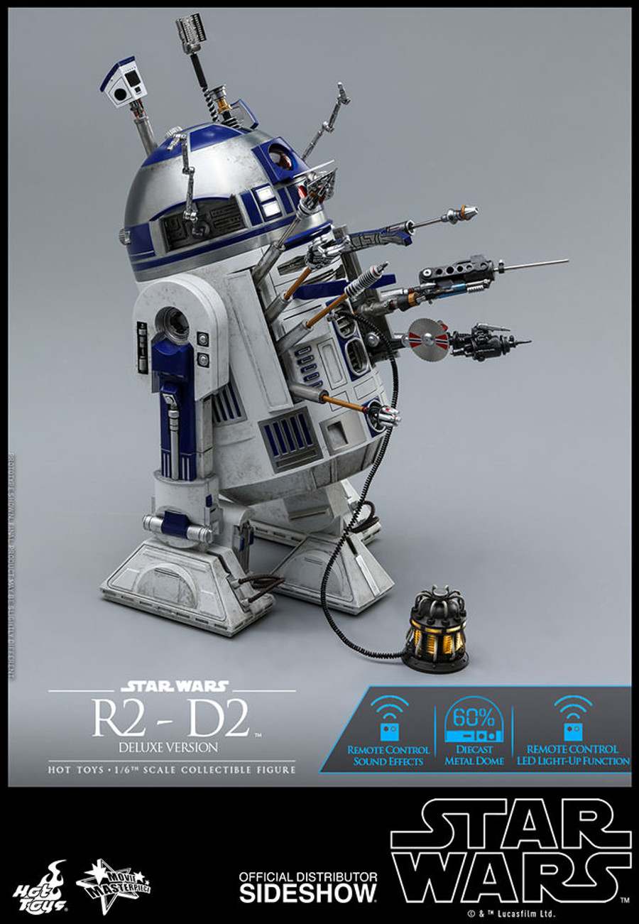 Hot Toys - Star Wars: R2-D2 Deluxe Version