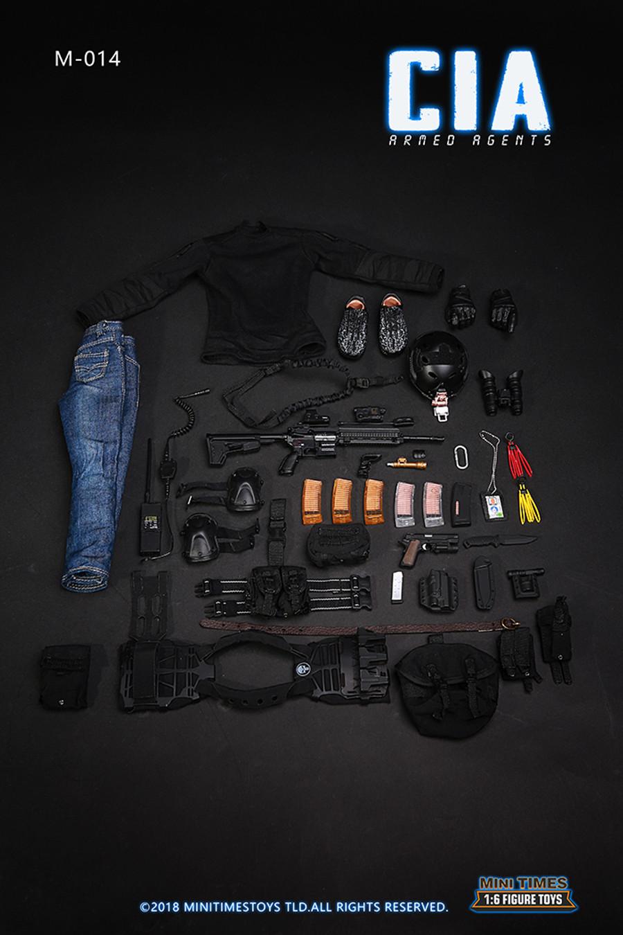 Mini Times - CIA Armed Agent Clothing Set