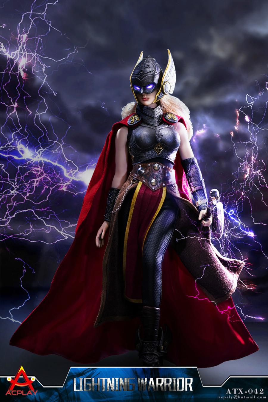 AC Play - Lightning Warrior Armor with Head