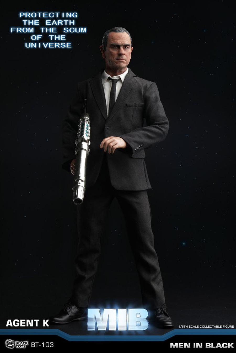 Black Toys - Agent K and Agent J
