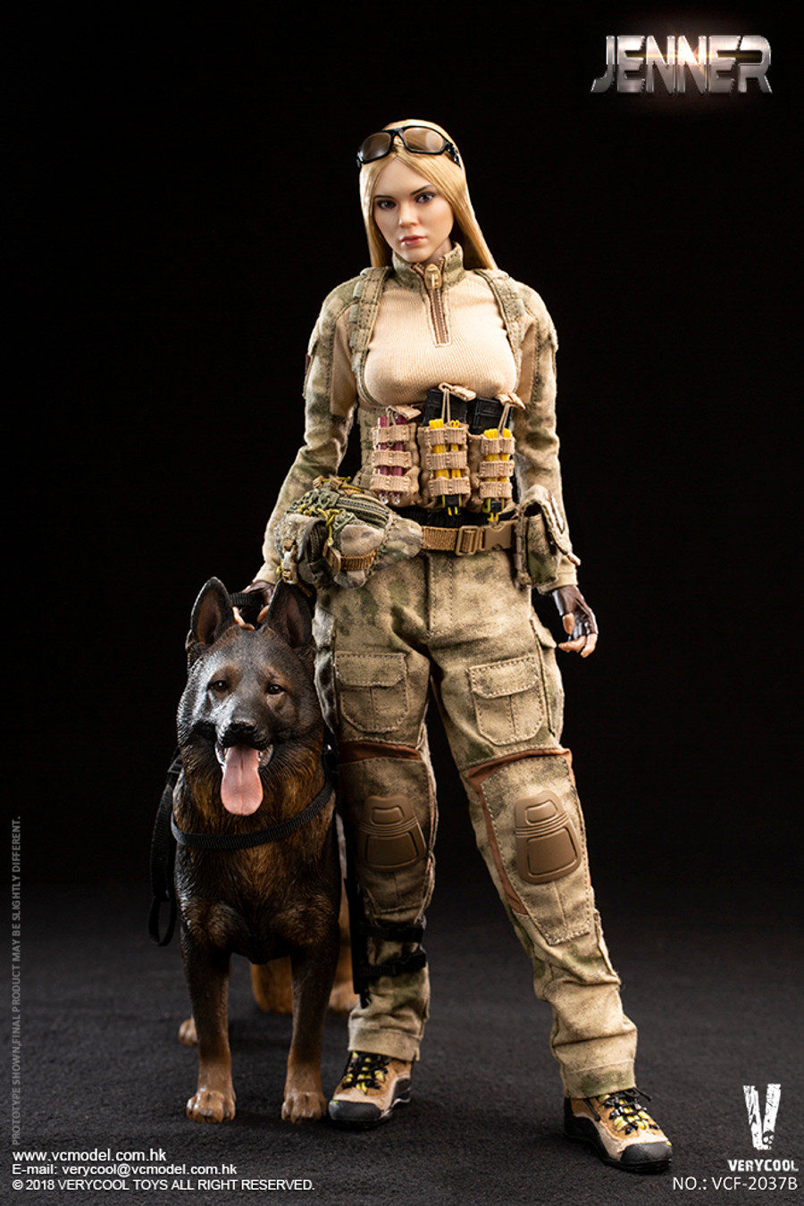 Very Cool - Women Soldier - Jenner (B Style)