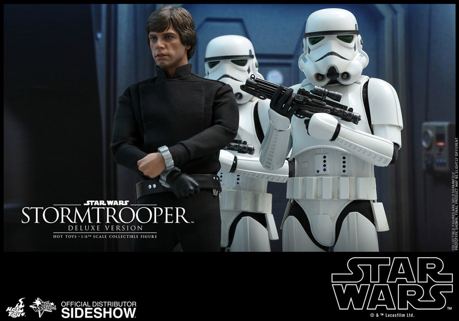 Hot Toys - Star Wars: Stormtrooper Deluxe Version
